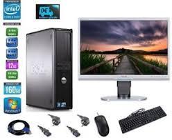 pc bureau wifi ordinateur de bureau pc fixe dell 360 760 22 wifi 4 6 8go ddr2