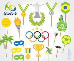printable photo booth props summer printable olympics photo booth props rio 2016 photobooth props