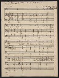 Write Music On Staff Paper Online Notated Music Library Of Congress