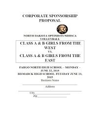 non profit proposal template sample sponsorship proposal cover