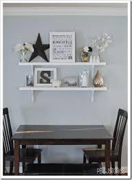 Best  Grey Floating Shelves Ideas On Pinterest Shelves For - Dining room wall shelves