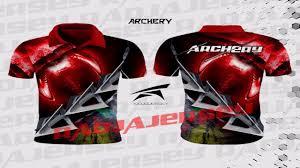 desain kaos archery limited pabrik jersey panahan pabrik baju panahan all size