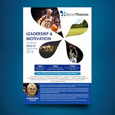 Basketball Coach Business Cards Upmarket Modern Flyer Design For Byron Thomas Recruitment By Uk