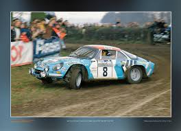 alpine renault a110 50 renault alpine a110 1800 poster rallywebshop rallywebshop