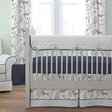 Baby Boy Chevron Crib Bedding 100 Baby Crib Beds 100 White Crib Sets Woodland Crib