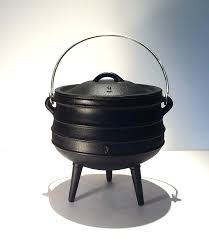 halloween witch pot witches cauldron african potjie pot size no1 3 litre capacity