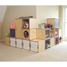 Toy Storage Furniture by Cool Playroom Design With Storage Furniture Home Design