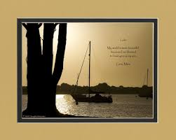 personalized keepsakes personalized gift with my world is more beautiful