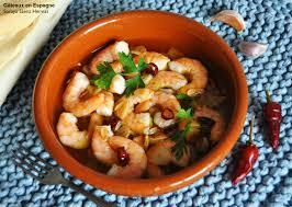cuisiner l ail gâteaux en espagne recette de crevettes à l ail à l espagnole