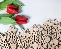 50 welsh mini love spoon wedding favours wooden wedding