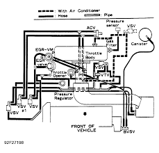 nissan sentra alternator wiring diagram toyota tercel bought a 92 tercel without a throttle body