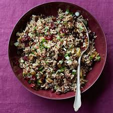 rice and cranberry dressing recipe