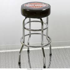 Harley Home Decor Furniture Simple Black Leather Bar Stools By Harley Davidson