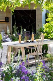 garden tour a fairytale english cottage garden with a scandi