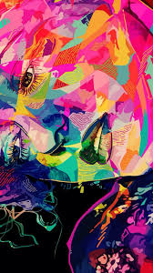 colorful wallpaper ios 7 trippy wallpapers for iphone group 72