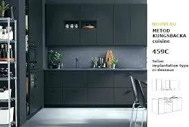 cuisine noir mat cuisine noir mat ambiance ractro cuisine noir mat sans poignee