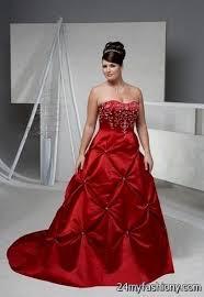 Red Wedding Dresses Red Wedding Dresses Plus Size 2016 2017 B2b Fashion