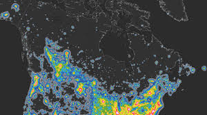 Light Polution Map News What Is Light Pollution And How Does It Affect Canadians