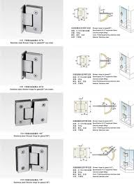 Shower Door Fittings by Interior Door Hinges Image Collections Glass Door Interior
