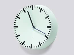 buy the hay analog wall clock at nest co uk