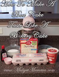 how to make a box mix taste like a bakery cake recipe bakeries