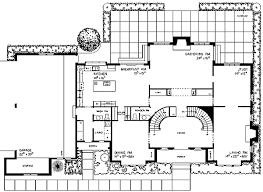 tudor floor plans tudor manor with grand staircase 81120w architectural