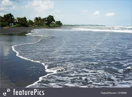 beaches with black sand black sand beach picture