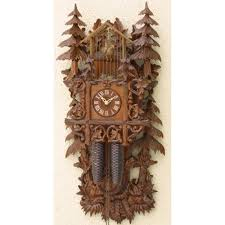 How To Wind A Cuckoo Clock Bahnhausle Cuckoo Clocks Made In Germany Clockshops Com