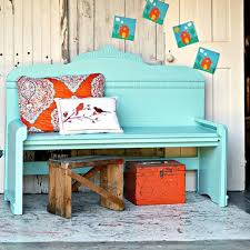 wrong paint color for the headboard bench the first time