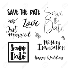 save the date wedding invitation labels save the date lettering