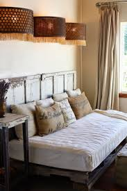 futon diy bed frame from wooden pallets without headboard make