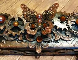 such a pretty mess video tutorial steampunk style glasses case