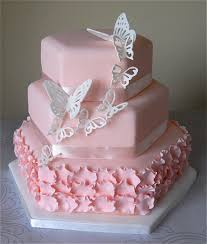 blush pink butterfly wedding cake www sugarruffles com 201 u2026 flickr
