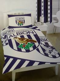 West Ham Duvet Cover West Bromwich Albion Single Size Duvet Cover Set