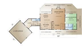 floor plans attached garage countrymark prairieranch fp garage