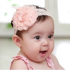 big flower headbands baby lace headbands with big flower 3 colours