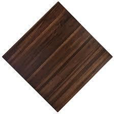walnut butcher block chocolate