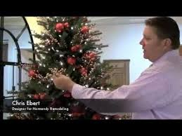 how to add floral picks to your tree holidays