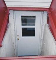 Exterior Door With Window Basement Entry Door Installation Ct Cellar Doors Llc