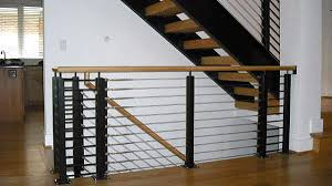 Iron Banisters And Railings Affordable Railings Md Dc Va Pa Cable Cast Iron Glass