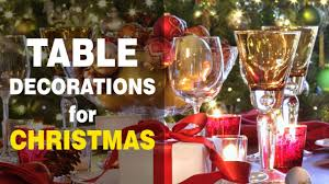 Holiday Table Decorating Ideas Christmas Table Decoration Ideas Get Holiday Party Inspiration