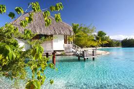 beaches island reef polynesia overlooking waters aqua suite