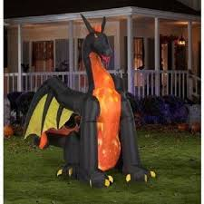 new air blown lawn decoration light up