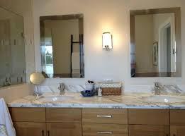 Chrome Bathroom Mirrors by Bathroom Spacious Bathroom Mirror Ideas With Dark Wood