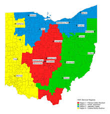 Mentor Ohio Map by Contact Us Ohio Education Association