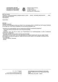 Lettre De Demande De Visa En Anglais office des 礬trangers la belgique chez p礙re ubu