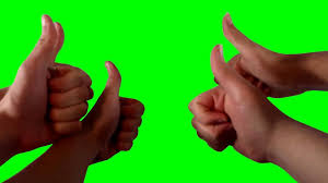 Howtobasic chroma key howtobasic thumbs up green screen youtube