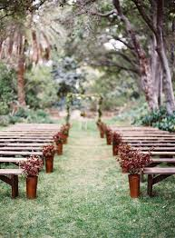 Garden Wedding Ceremony Ideas 12 Ways To Make You Wedding Aisle Look Fabulous