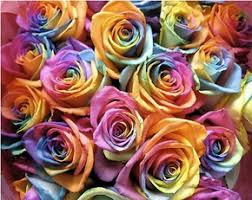 tie dye roses wedding flowers personal preference of a floral designer