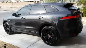 jaguar f pace black grey double helix rims or black jaguar f pace forum